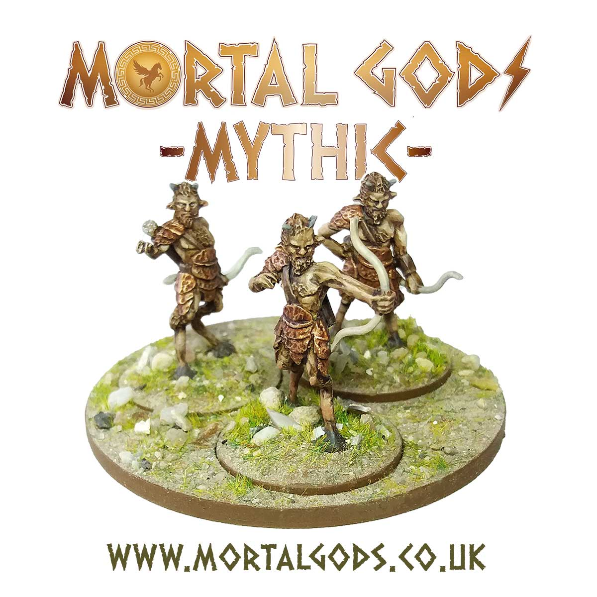 Satyr With Bows - Mortal Gods Mythic