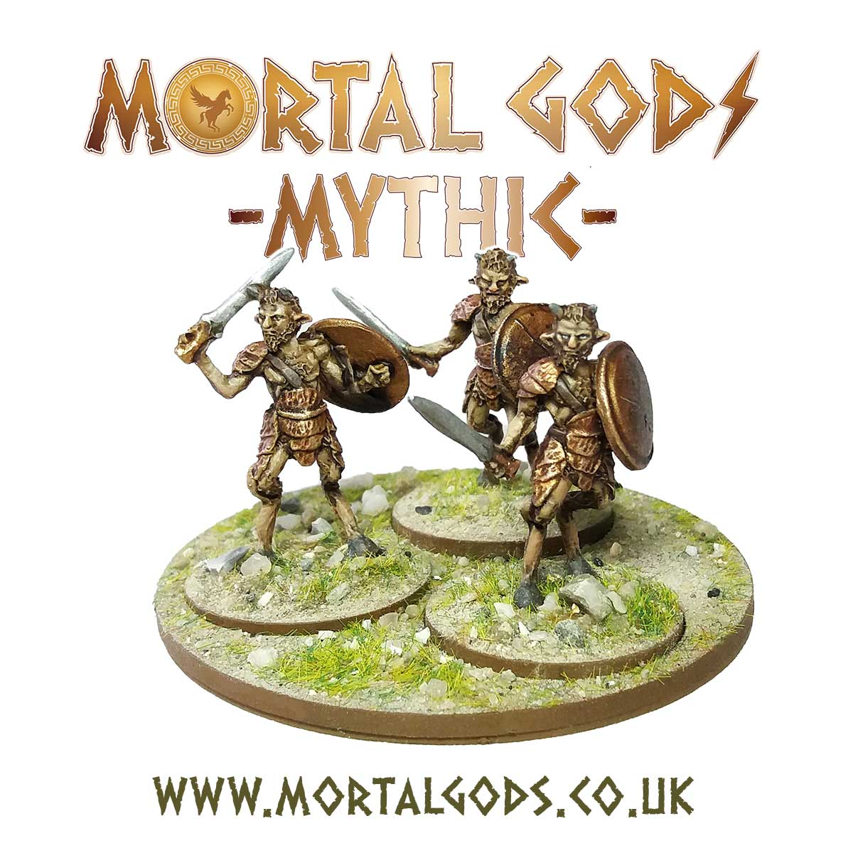 Satyr With Spears - Mortal Gods Mythic