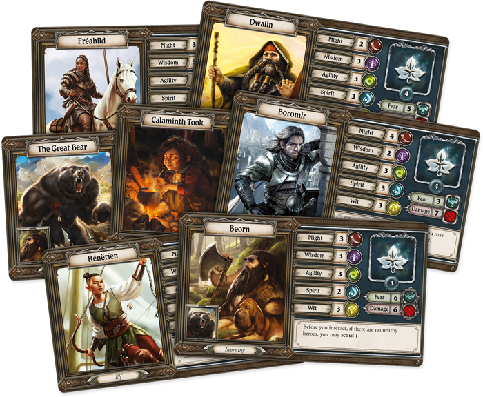 Spreading War Characters - Journeys In Middle-earth