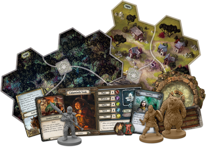 Spreading War Components - Journeys In Middle-earth