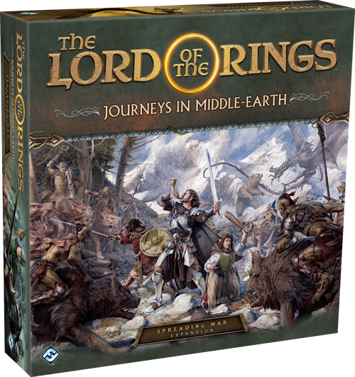 Spreading War - Journeys In Middle-earth