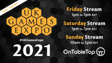 OnTableTop @ UK Games Expo 2021 – Livestreams & Live Blogs!