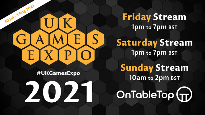 #UKGE2021 Catch Up: All 3 Live Streams Of UK Games Expo 2021 OnTableTop