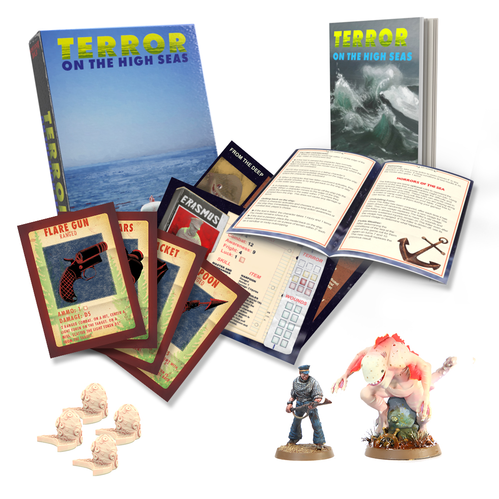 Terror On The High Seas Contents - Dont Look Back