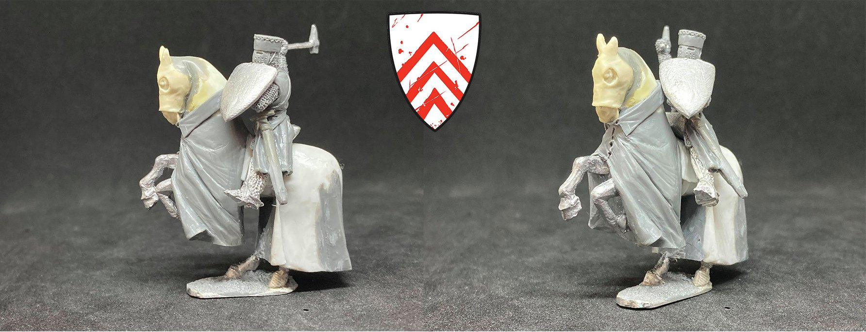 The Count of Perche Miniature - The Barons War