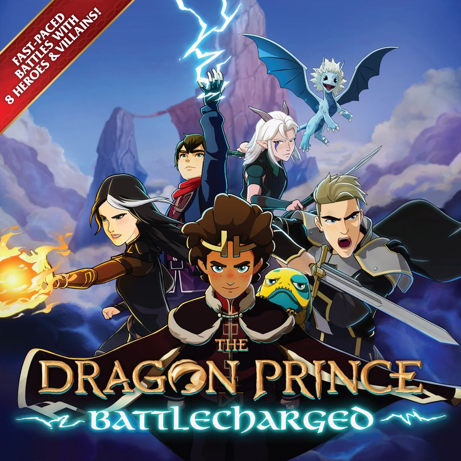 The Dragon Prince Battlecharged Cover - Brotherwise Games