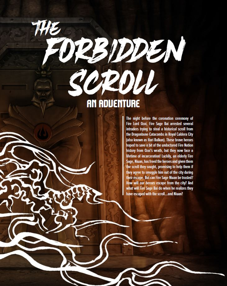 The Forbidden Scroll Adventure - Magpie Games