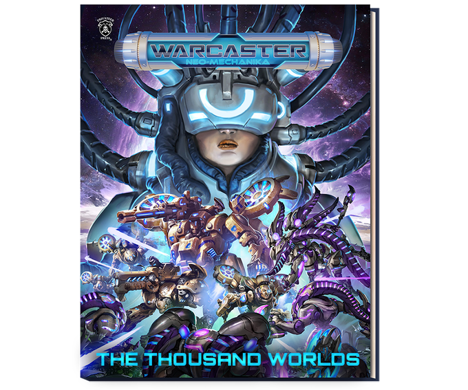 The Thousand Worlds Book - Warcaster NEW