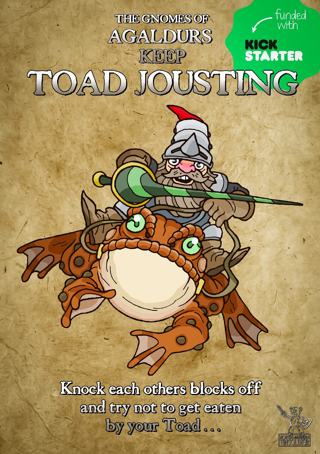 Toad Jousting - Northumbrian Tin Soldier