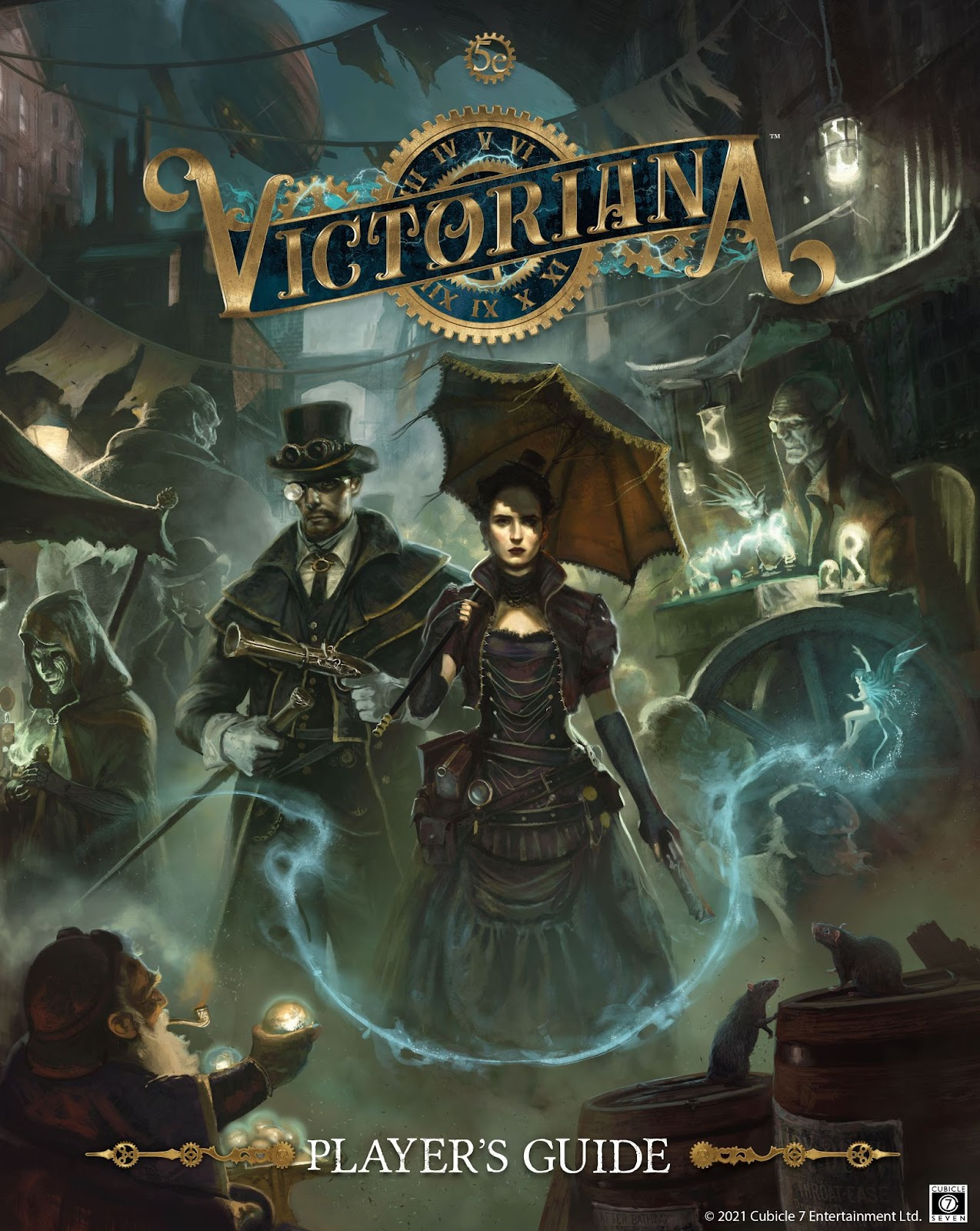 Victoriana Players Guide - Cubicle 7
