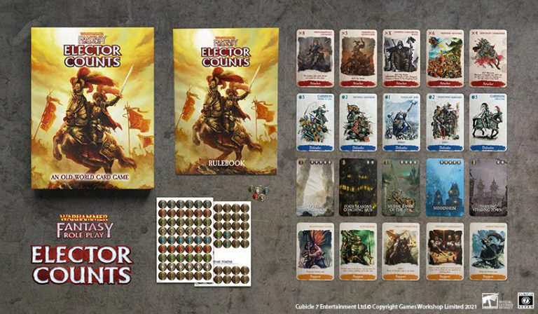 Warhammer Fantasy Role-Play Elector Counts Alt - Cubicle 7