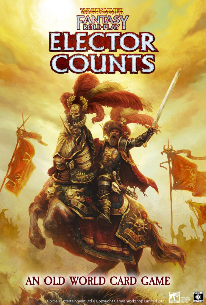 Warhammer Fantasy Role-Play Elector Counts - Cubicle 7