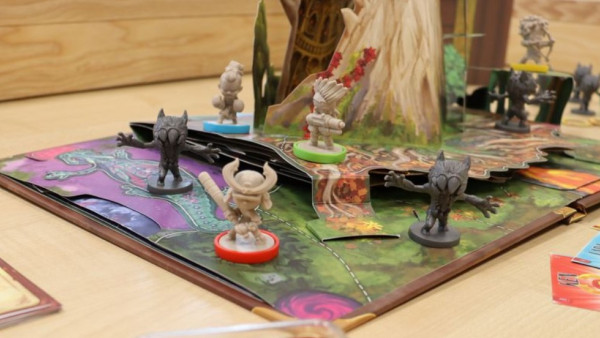 Embark On A 3D Pop Up Adventure In Board Game, Wonder Book