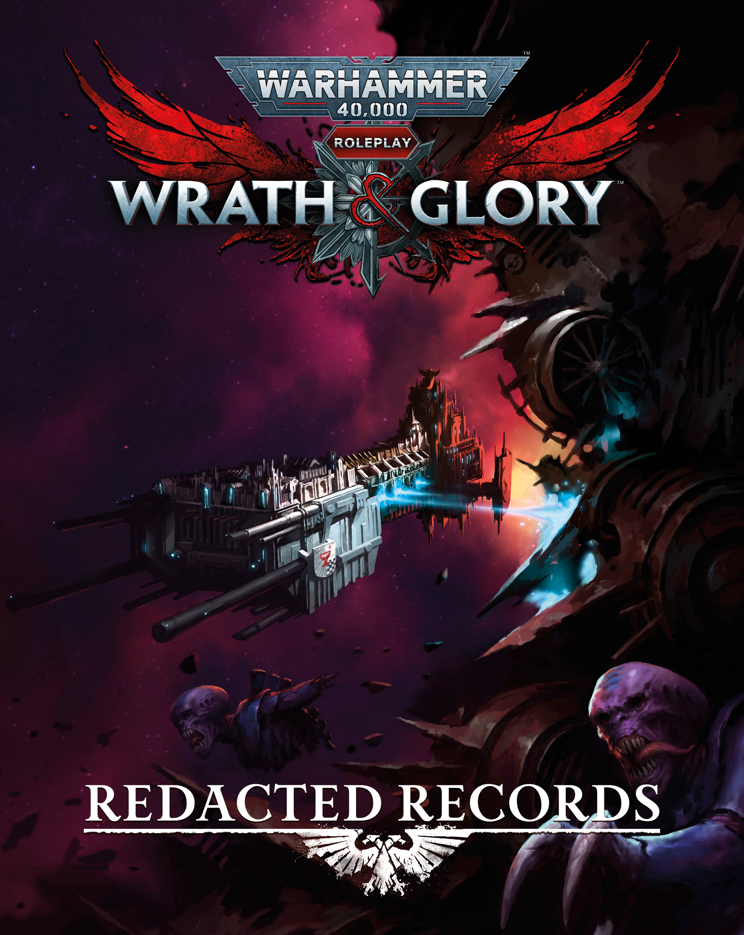 Wrath & Glory Redacted Records - Cubicle 7