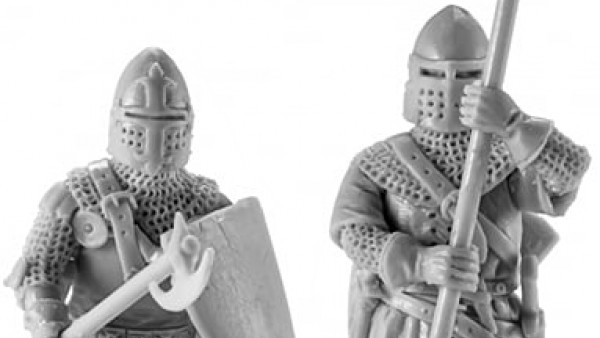 V&V Miniatures' French Medieval Knights Join The Battle