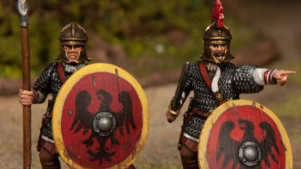 Late Roman Legionaries March Forth From Wargames Atlantic