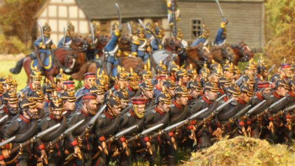Perry's New 28mm Prussian Plastics Now Available To Buy