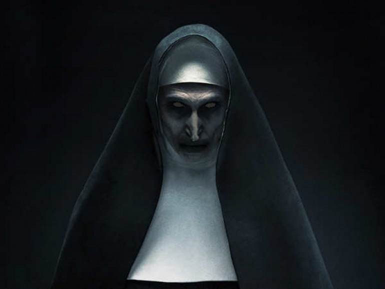 I know this is a badly editid evil nun, but I can't use photoshop and you get the idea.  pretend she's a nurse.  I'd imagine the line between nurse and nun was blurred here anyway