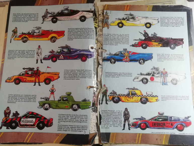 Using some of the classic colours for these vehicles