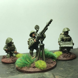 Support weapons for the 20mm North Vietnamese platoon