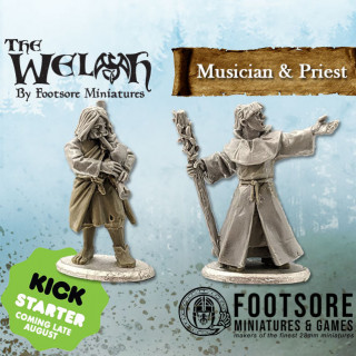 Kickstarter Coming Soon for the Medieval Welsh. Can be used for Saga too