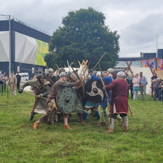 Viking Village: Learning The Viking War & The Realities Of Adventuring! #UKGE2021