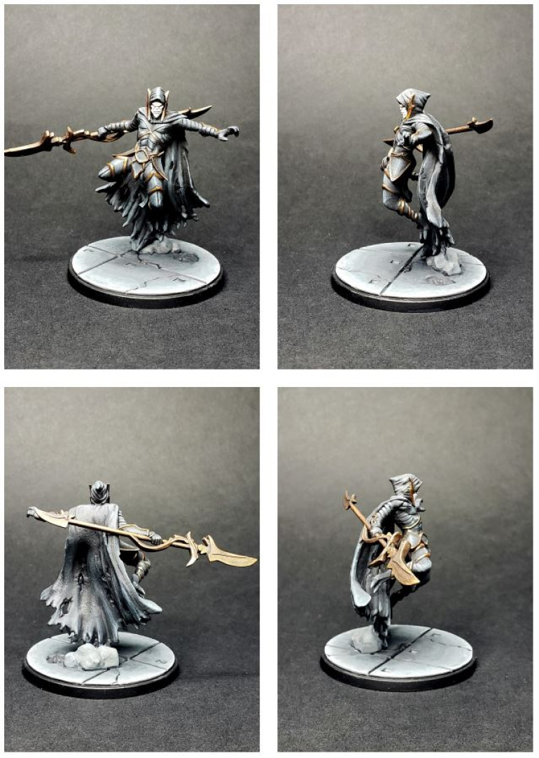 Corvus Glaive ready to join his wife.