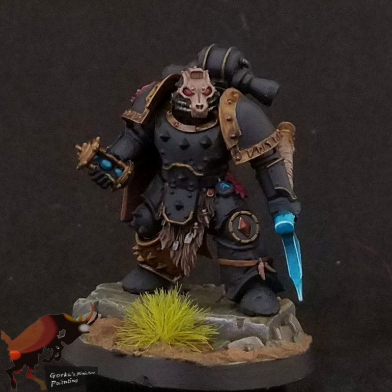 Converted Spacewolves characters