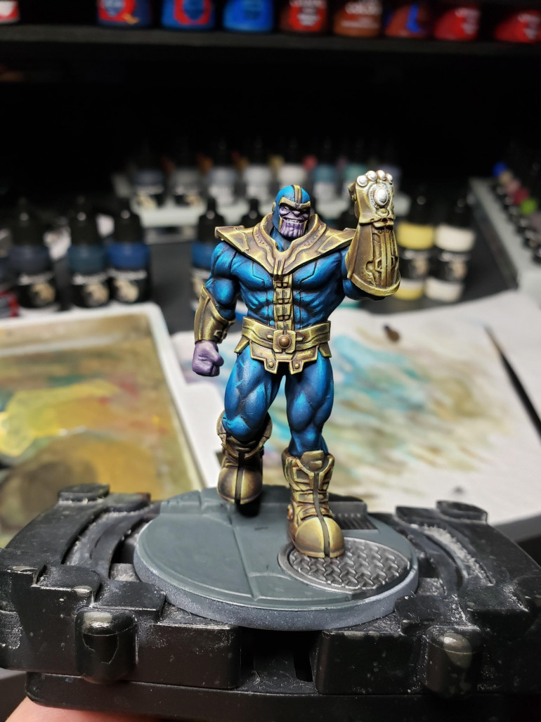 Thanos - almost done.