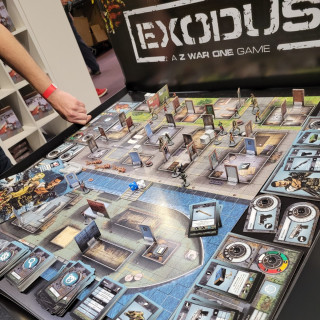 Dice Sports: Exodus & Air Flick - Dexterity-Based WWII Goodness! #UKGE2021