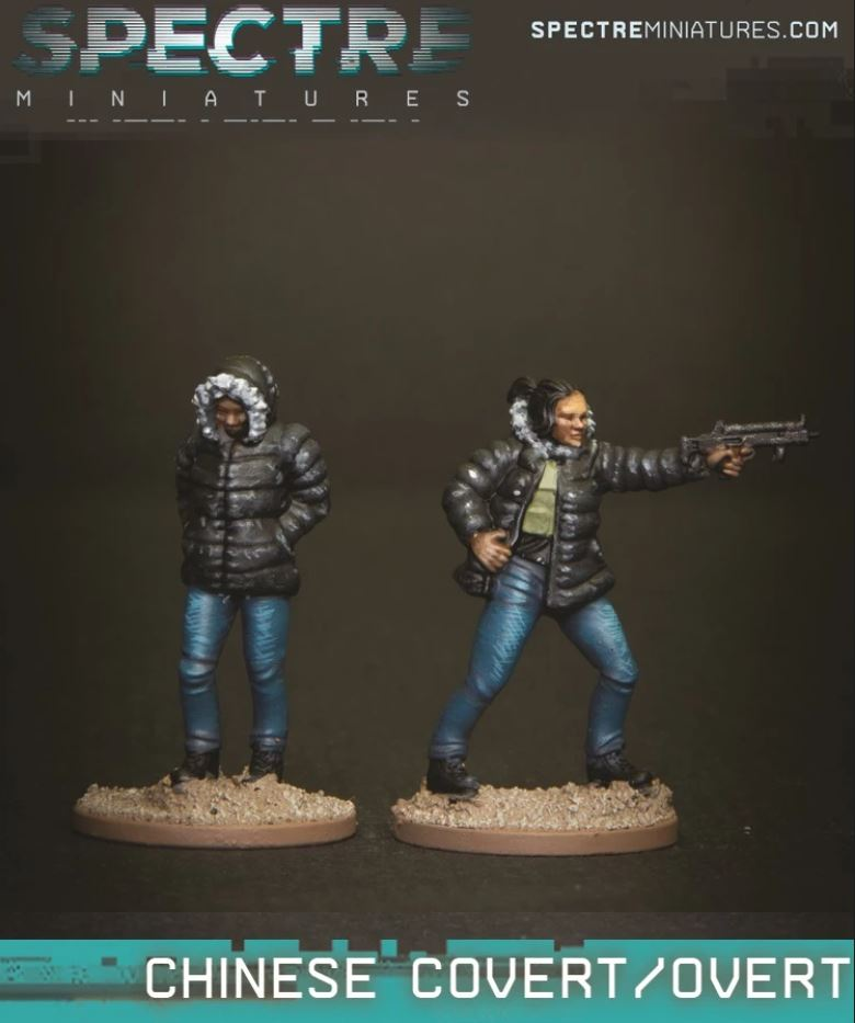 Chinese Covert Operator - Spectre Miniatures