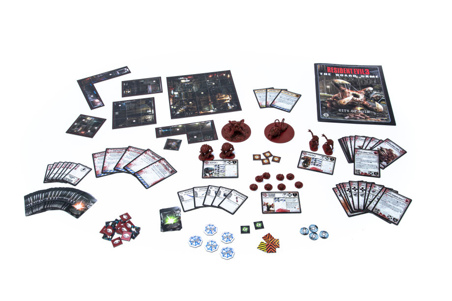 City Of Ruins Components - Steamforged Games