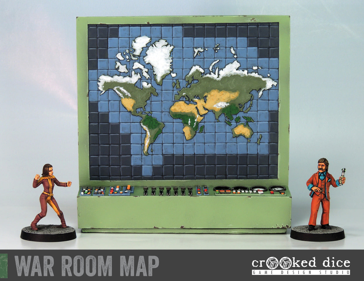 Crooked Dice War Room Map