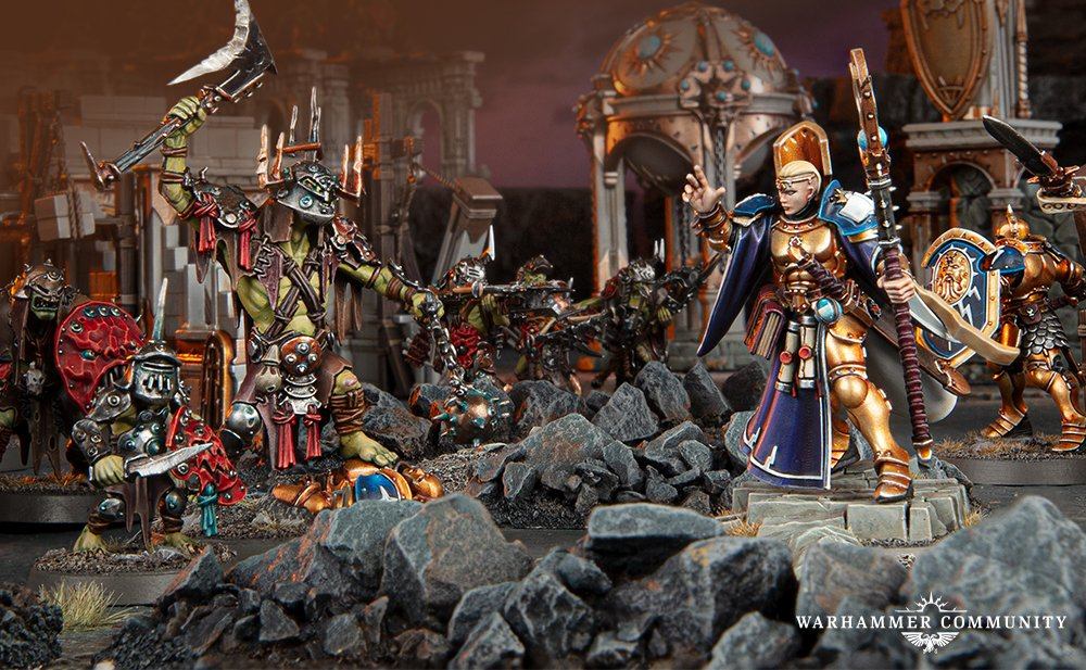 Dominion Rules - Warcry