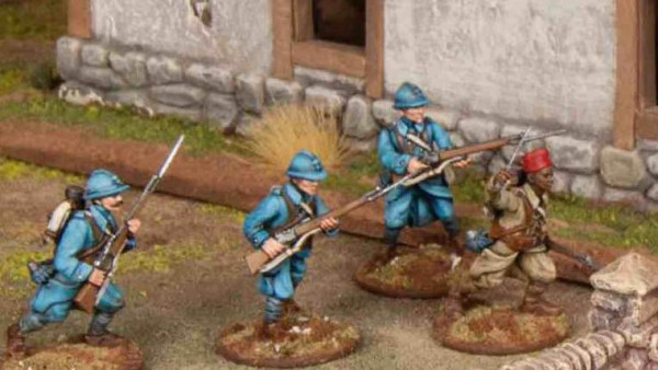 They Shall Not Pass Great War French Arrive From Wargames Atlantic