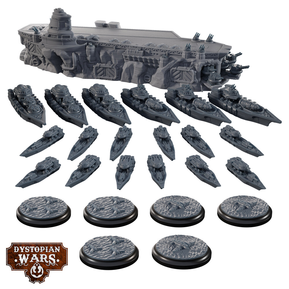 Imperium Ice Maiden Group - Dystopian Wars