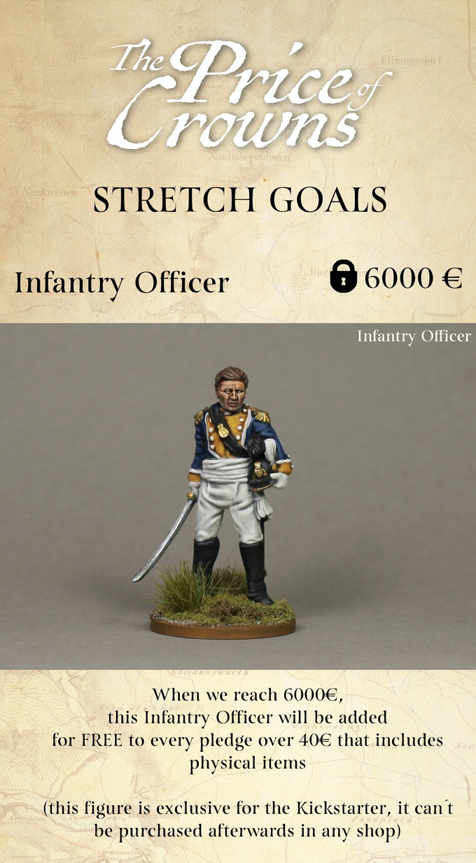 Infantry Officer Stretch Goal - Piano Wargames