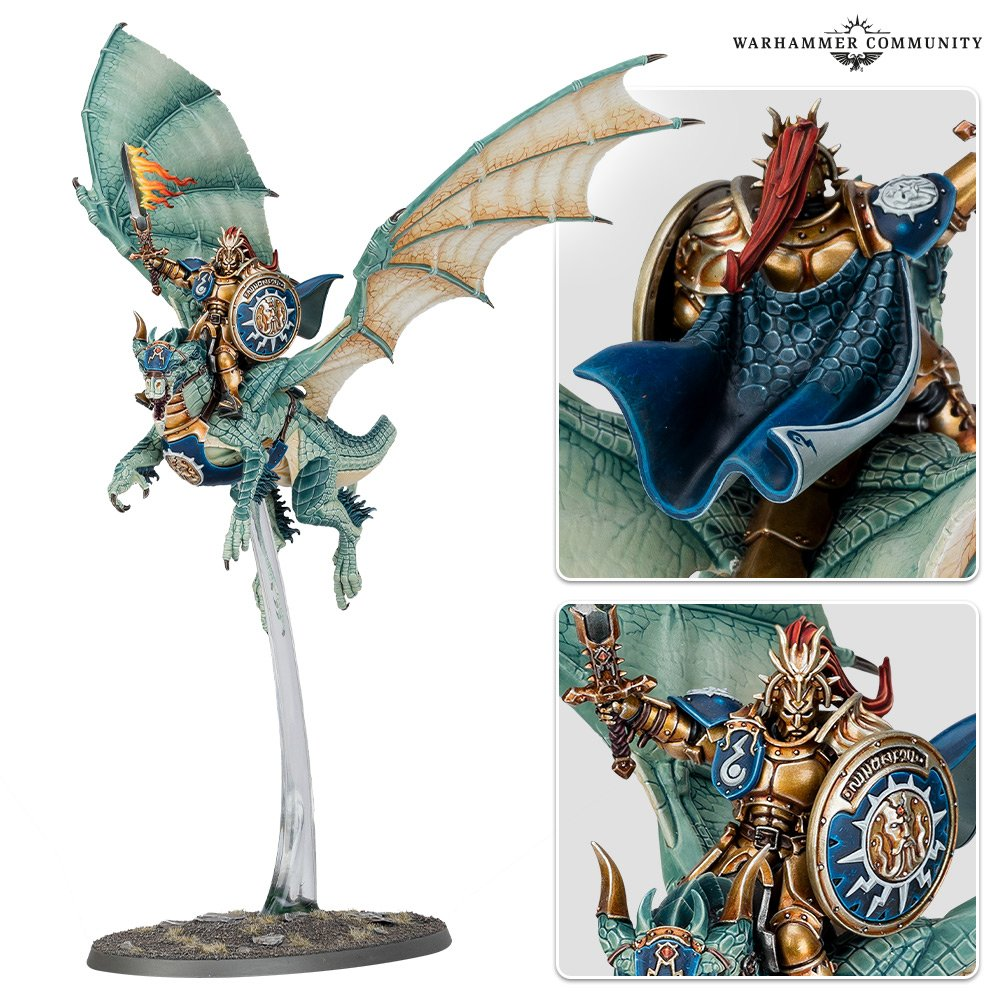 Knight-Draconis Detail - Warhammer Age Of Sigmar