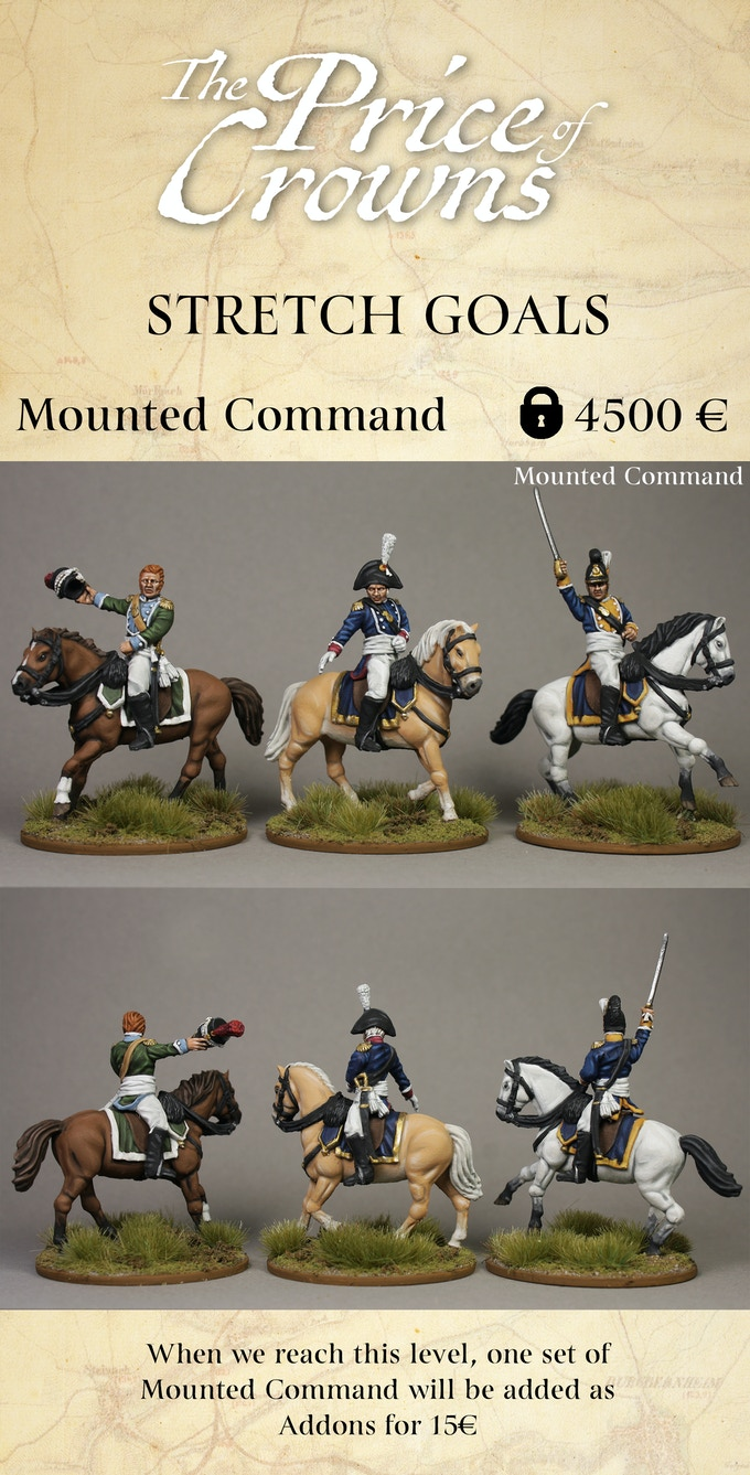 Mounted Command Stretch Goal - Piano Wargames