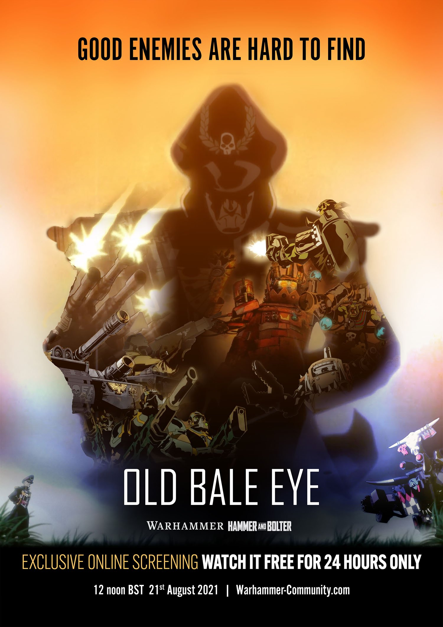 Old Bale Eye - Warhammer Hammer And Bolter