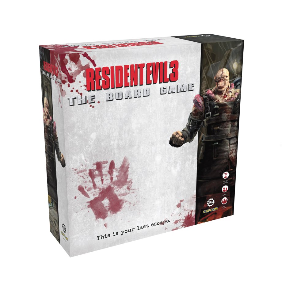 Resident Evil 3 - The Board Game - Steamforged Games