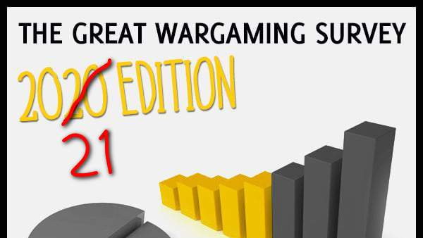The Great Wargaming Survey 2021