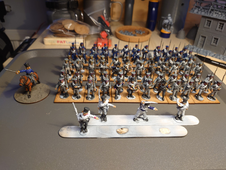 The almost completed 3 battalions of the 6th Prussian Reserve Infantry Regiment