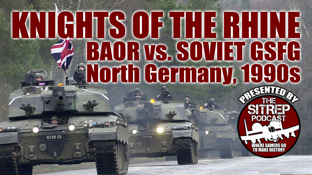 British 1st Armoured Division vs. Soviet 9th Guards