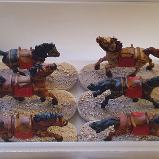 Horsies - contrast paints for the win