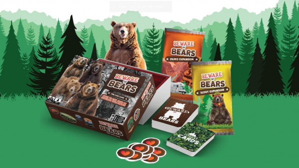 Escape The Forest & Feed Your Friends To The Bears!
