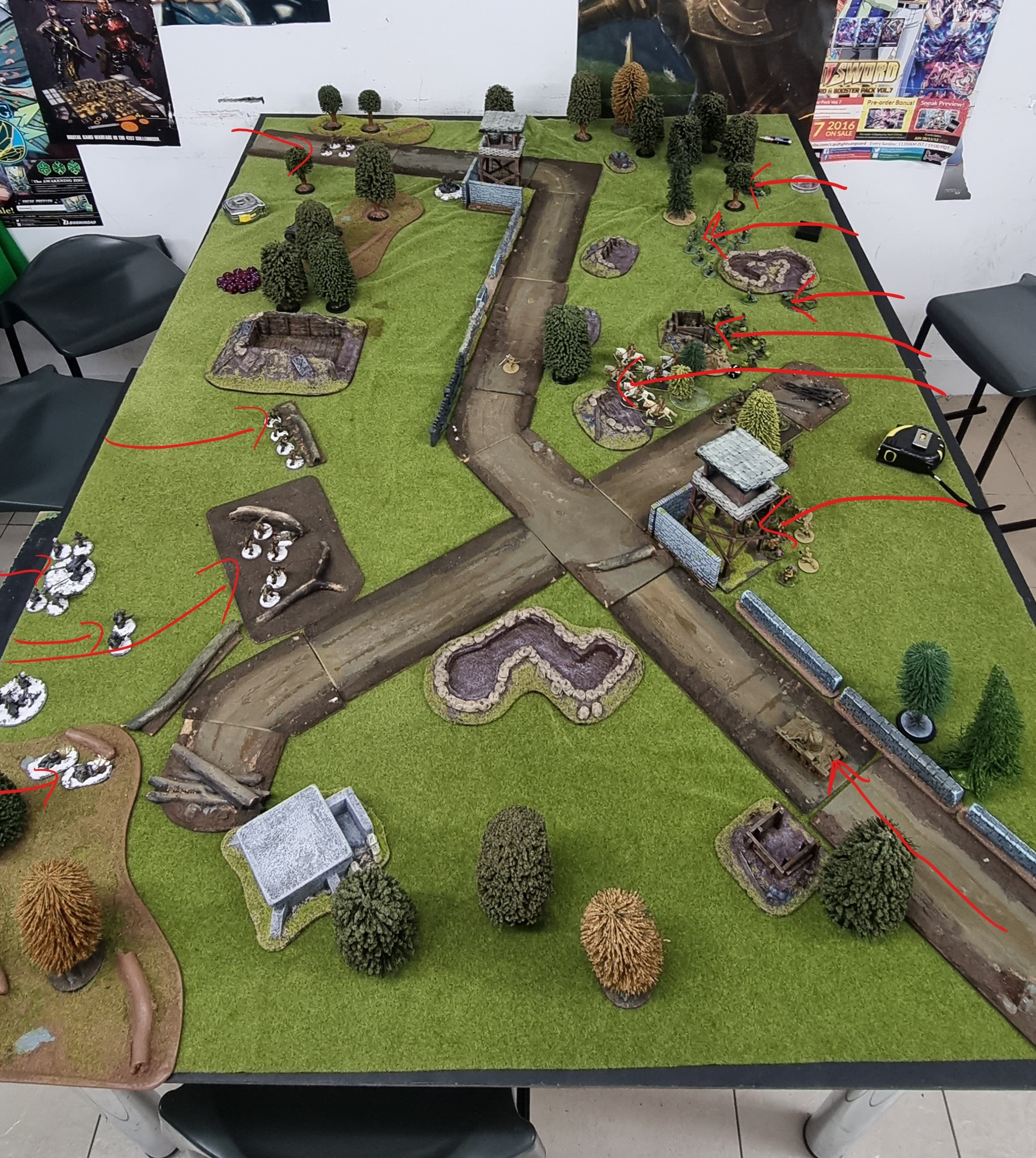 Bolt Action Battle Report #1 by hegemongary
