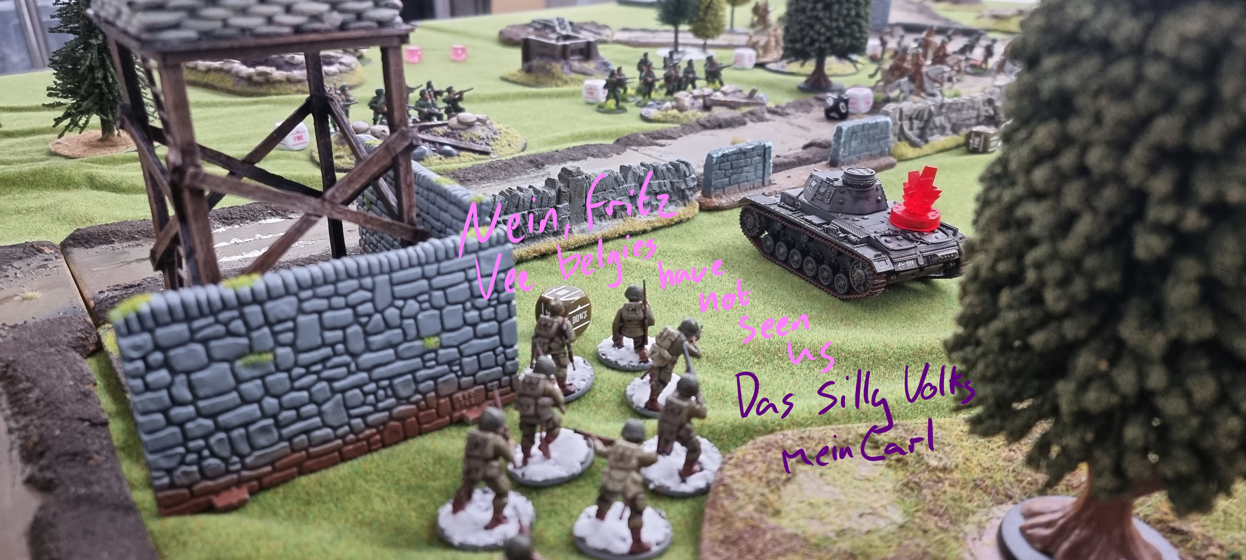 Bolt Action Battle Report #2 by hegemongary
