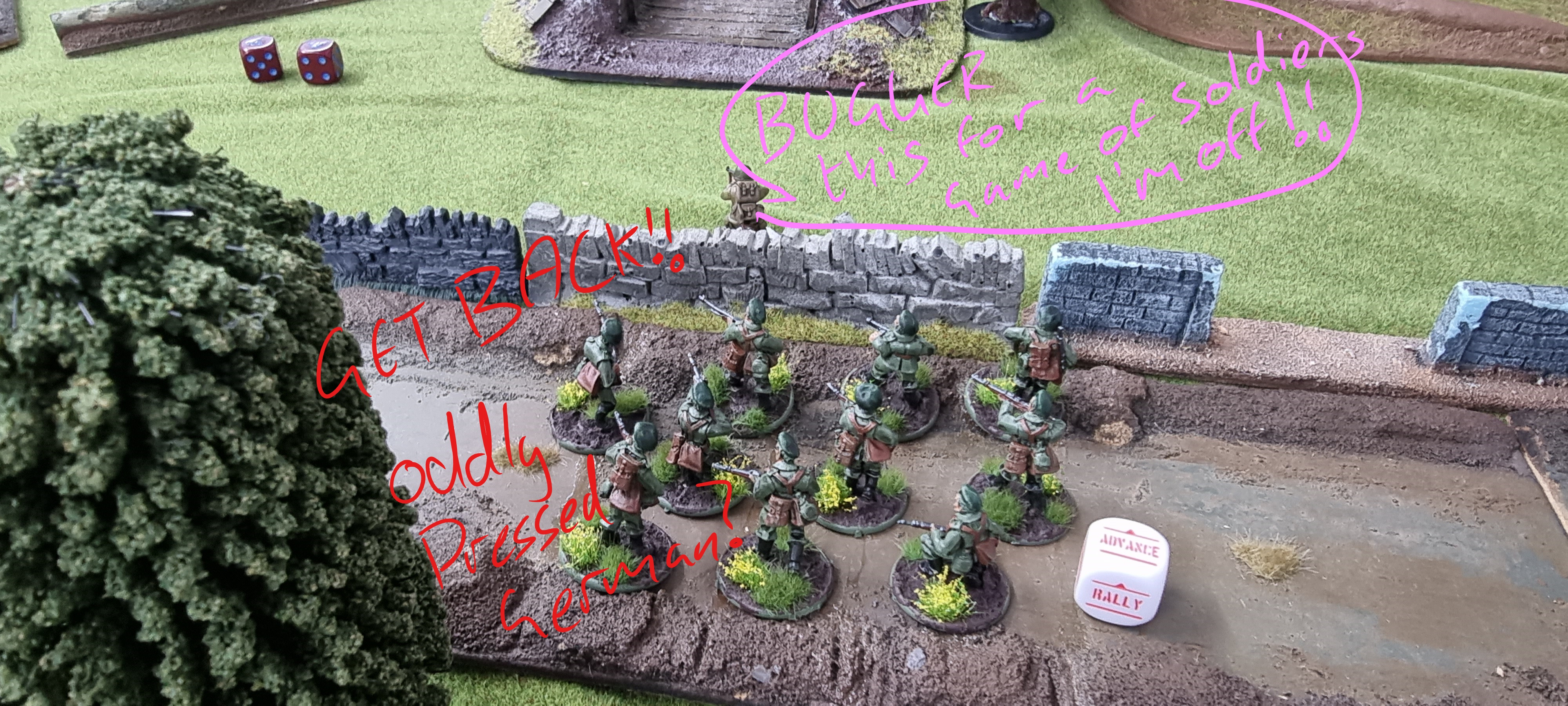 Bolt Action Battle Report #3 by hegemongary