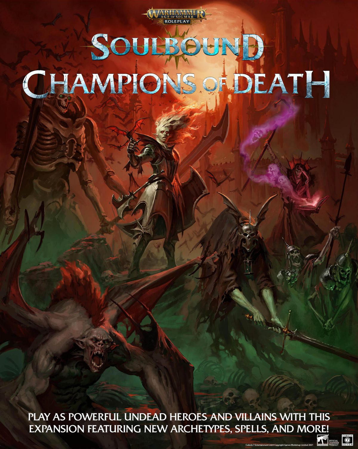 Champions Of Death - Age Of Sigmar Soulbound SEPT